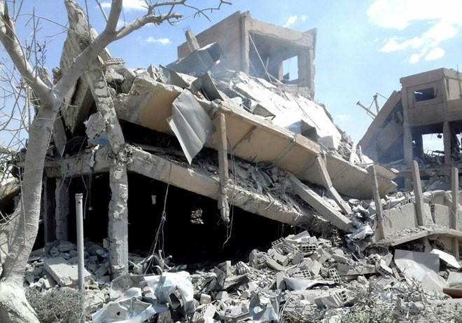 Phòng không Syria chẳng hề hấn gì: Tiếp tục đánh trả quyết liệt tên lửa Mỹ và đồng minh - Ảnh 2.
