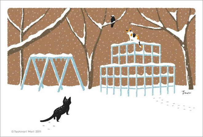 Cuộc đời của một chú mèo: Bộ tranh sẽ cho bạn biết khi rảnh lũ boss thường đi đâu, làm gì - Ảnh 14.