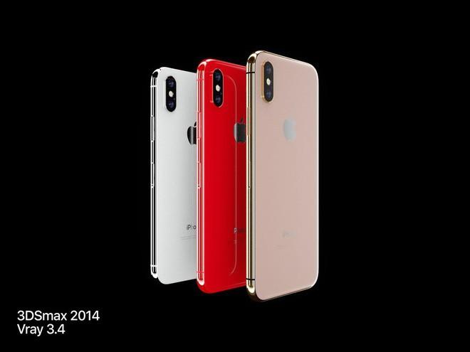 Ngắm concept iPhone X Blush Gold và (PRODUCT)RED, đẹp đến nỗi khó trở thành hiện thực - Ảnh 1.