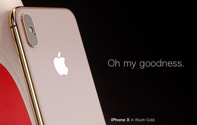 Ngắm concept iPhone X Blush Gold và (PRODUCT)RED, đẹp đến nỗi khó trở thành hiện thực - Ảnh 2.