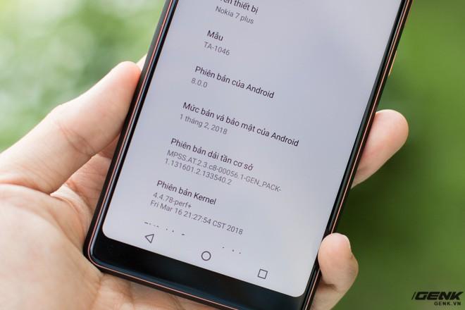 Trên tay Nokia 7 Plus tại VN: Snapdragon 660, Android One mượt mà, camera kép Zeiss, giá khoảng 9-10 triệu đồng - Ảnh 13.