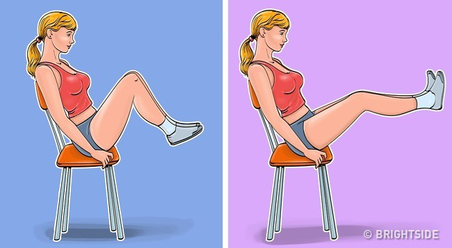 7 động tác loại bỏ mỡ bụng, thon gọn vòng 2 siêu tốc: Ai ngồi nhiều nhất định nên tập! - Ảnh 5.