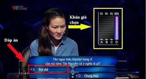 Ai là triệu phú: Câu hỏi vừa đưa ra đã khiến người chơi đứng hình - Ảnh 3.