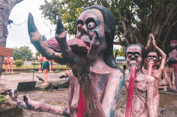 Khu vườn địa ngục ở Thái Lan hút khách du lịch - Ảnh 5.