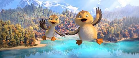 Ngỗng vịt phiêu lưu ký- phim hoạt hình vui nhộn ra mắt dịp lễ - Ảnh 3.