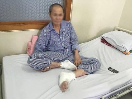 Liên tiếp có bệnh nhân tiểu đường nhập viện vì bỏng nặng do dùng đèn sưởi đá muối - Ảnh 1.