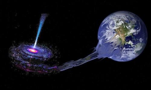 Thảm cảnh diệt vong của Trái Đất khi rơi vào hố đen - Ảnh 1.