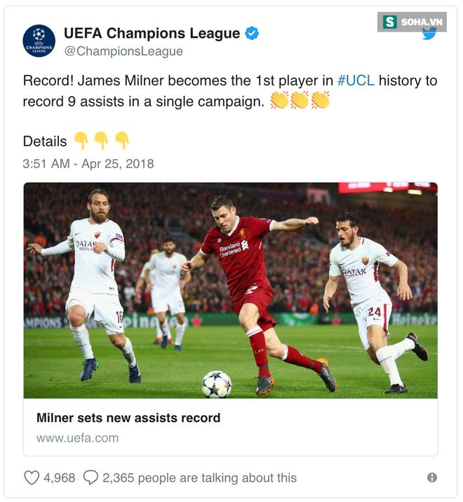 Không ghi bàn, nhưng thủ lĩnh thầm lặng của Liverpool vẫn khiến cả châu Âu phải ngả mũ - Ảnh 1.