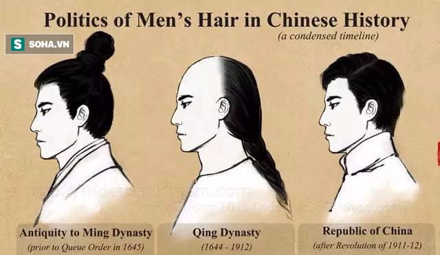 Phải cạo trọc nửa đầu, tết tóc đuôi sam, đàn ông Thanh triều bao lâu mới gội đầu 1 lần? - Ảnh 1.