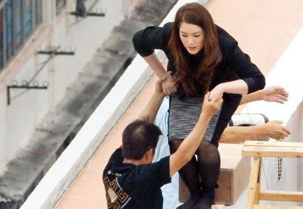 Chuyện đời Hoa hậu Trung Quốc 2 lần lộ ảnh nóng: Bị TVB hắt hủi vì quá béo, nay tìm được chân ái bên chồng đại gia - Ảnh 15.