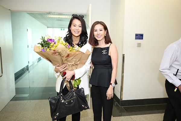 Mối quan hệ ít người biết giữa hoa hậu Thu Hoài và vợ chồng ngôi sao TVB Hồ Hạnh Nhi - Ảnh 1.