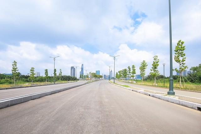 Cận cảnh con đường dát kim cương với chi phí 1.000 tỷ đồng/km ở Khu đô thị mới Thủ Thiêm - Ảnh 5.