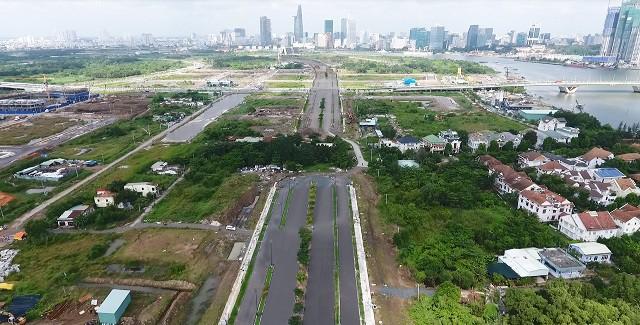 Cận cảnh con đường dát kim cương với chi phí 1.000 tỷ đồng/km ở Khu đô thị mới Thủ Thiêm - Ảnh 6.
