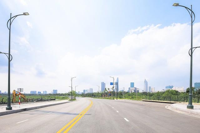 Cận cảnh con đường dát kim cương với chi phí 1.000 tỷ đồng/km ở Khu đô thị mới Thủ Thiêm - Ảnh 10.