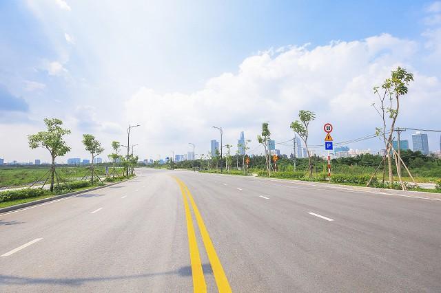 Cận cảnh con đường dát kim cương với chi phí 1.000 tỷ đồng/km ở Khu đô thị mới Thủ Thiêm - Ảnh 11.