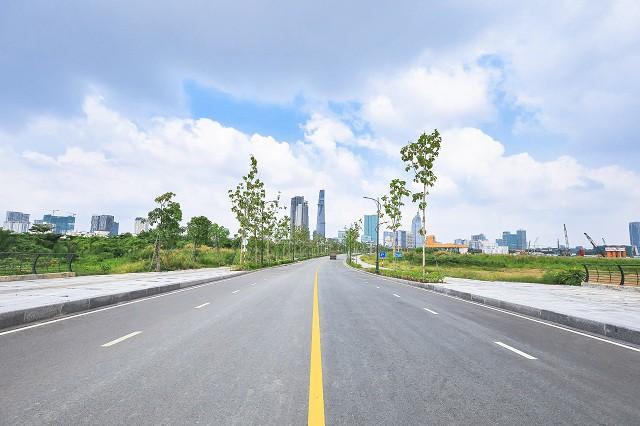 Cận cảnh con đường dát kim cương với chi phí 1.000 tỷ đồng/km ở Khu đô thị mới Thủ Thiêm - Ảnh 15.