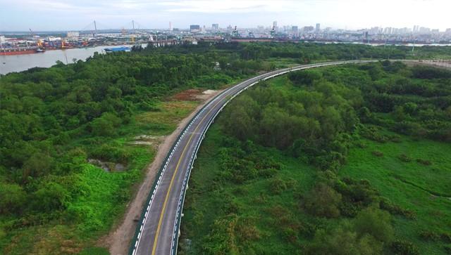 Cận cảnh con đường dát kim cương với chi phí 1.000 tỷ đồng/km ở Khu đô thị mới Thủ Thiêm - Ảnh 20.