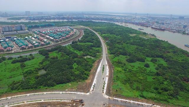 Cận cảnh con đường dát kim cương với chi phí 1.000 tỷ đồng/km ở Khu đô thị mới Thủ Thiêm - Ảnh 21.