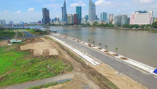Cận cảnh con đường dát kim cương với chi phí 1.000 tỷ đồng/km ở Khu đô thị mới Thủ Thiêm - Ảnh 16.