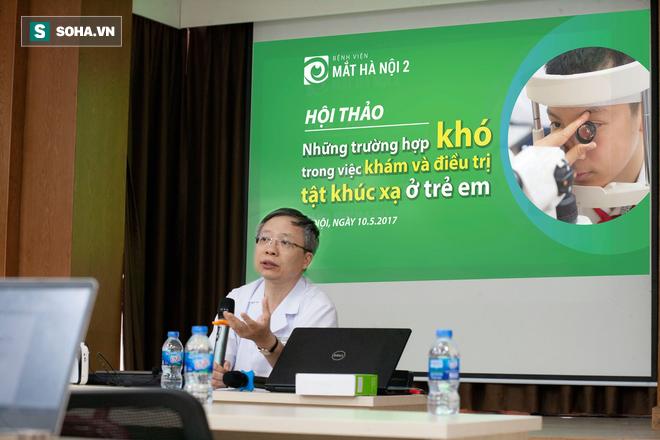 Chuyên gia mắt cảnh báo con số giật mình: 36 triệu người Việt mắc các tật khúc xạ - Ảnh 1.