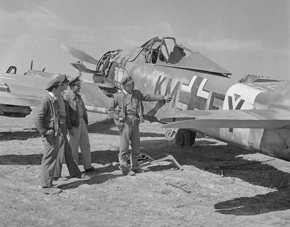 Những máy bay chiến đấu có tốc độ nhanh nhất trong Chiến tranh Thế giới thứ hai - Ảnh 4.