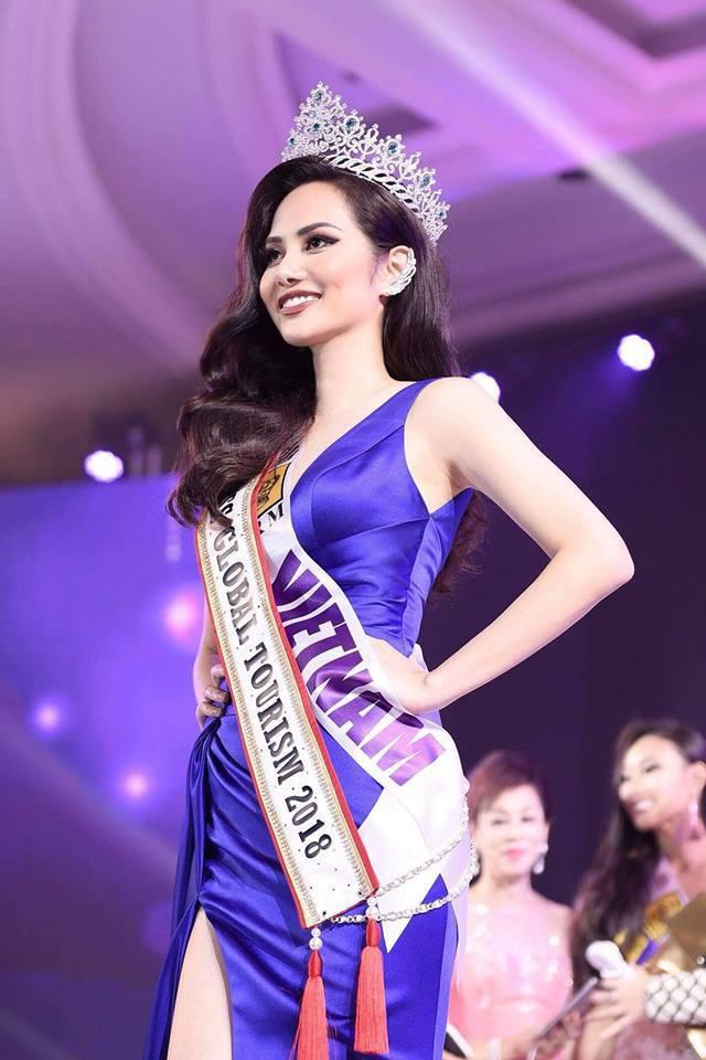 Người đẹp Brazil đăng quang Nữ hoàng Du lịch Quốc tế 2018, đại diện Việt Nam dừng chân ở Top 10 - Ảnh 3.