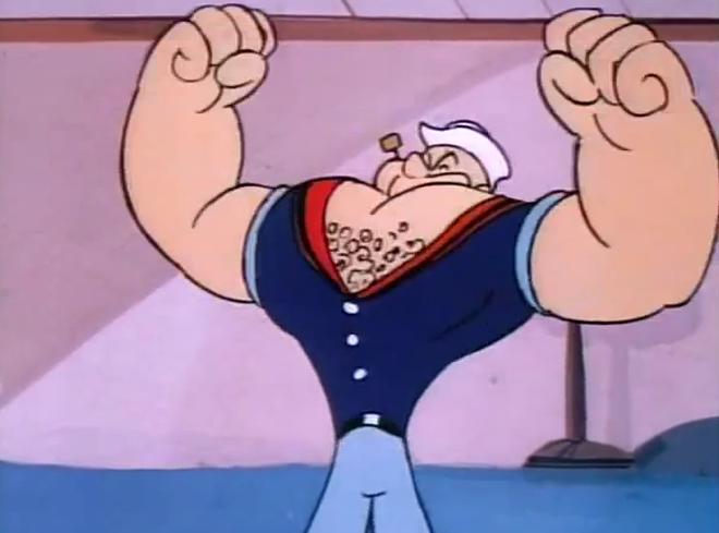 Đố 8x - 9x biết vì sao thủy thủ Popeye thích ăn rau chân vịt? Đáp án là điều không một ai có thể ngờ tới - Ảnh 5.