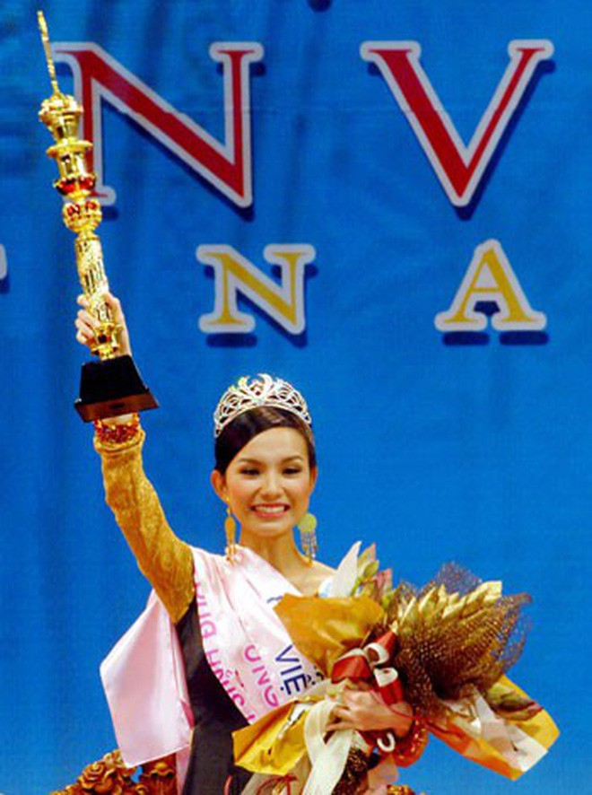 Nhan sắc và cuộc sống kín tiếng của Hoa hậu Hoàn vũ Việt Nam đầu tiên sau 10 năm đăng quang - Ảnh 3.