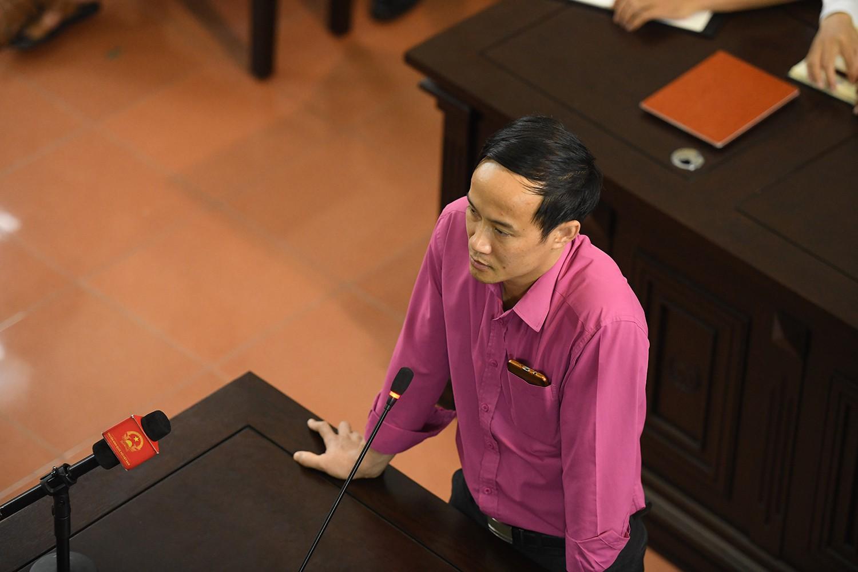 ông Đinh Tiến Công khẳng định thêm một lần nữa trước toà là đã  ghi thêm biên bản theo chỉ đạo sau sự cố chạy thận