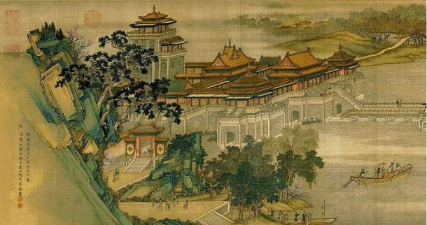 Những họa tiết đắt giá trong bức tranh mệnh danh Mona Lisa của Trung Quốc - Ảnh 3.
