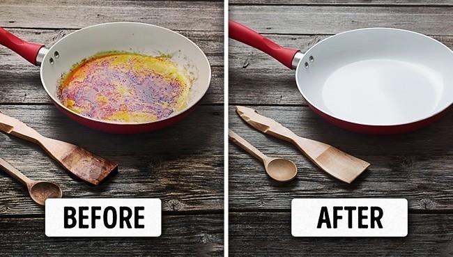 5 cách làm sạch vết bẩn ở xoong, nồi từ những nguyên liệu rẻ tiền sẵn có trong bếp - Ảnh 1.