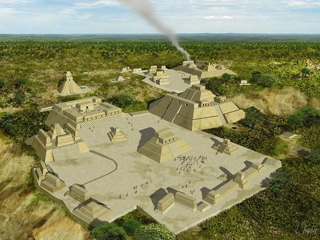 Đột nhập lăng mộ cổ của người Maya, phát hiện con mắt kỳ dị chưa từng thấy! - Ảnh 3.