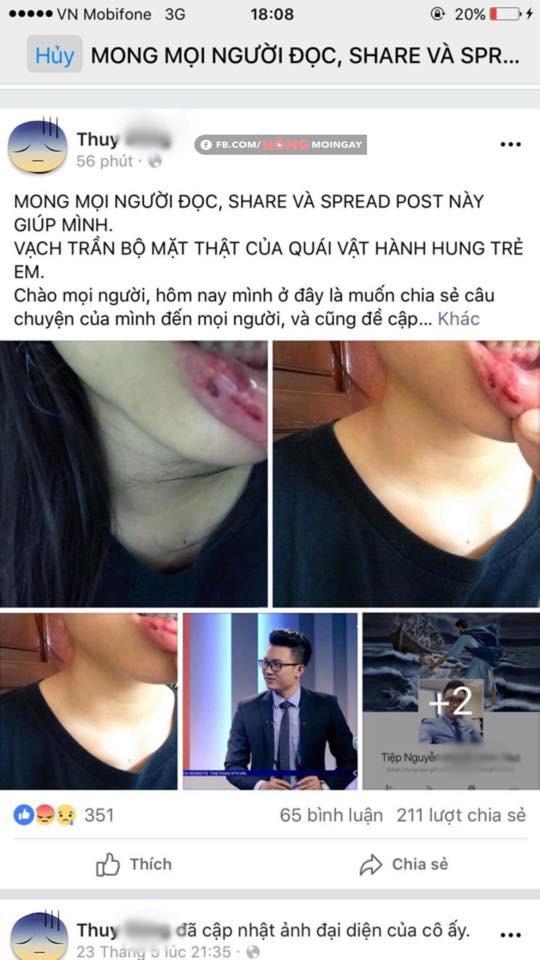 BTV bóng đá Minh Tiệp lên tiếng trước thông tin bạo hành, đánh đập em vợ từ năm lớp 6 - Ảnh 1.