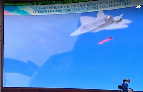 Tiêm kích tàng hình Su-57 Nga phóng tên lửa hành trình diệt phiến quân ở Syria? - Ảnh 1.