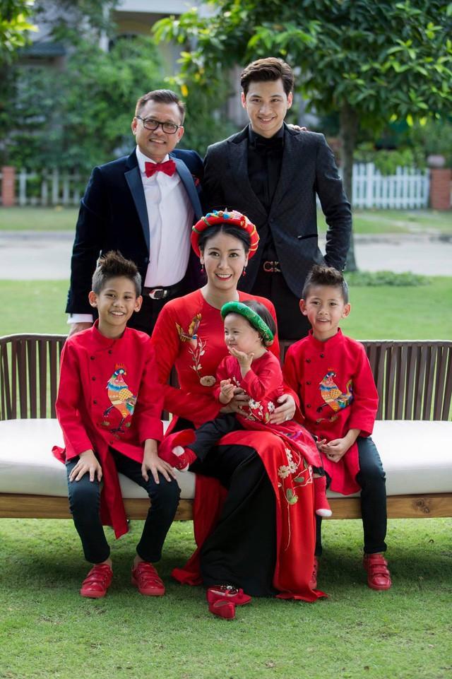 Hoa hậu Hà Kiều Anh: Mẹ kế phải thật bao dung, nhân hậu - Ảnh 2.