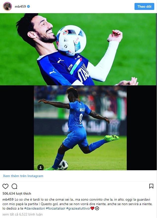 Mario Balotelli tái xuất Azzurri: Có một Super Mario trưởng thành - Ảnh 3.
