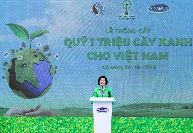 Quỹ Một triệu cây xanh cho Việt Nam về tới đất Mũi Cà Mau - Ảnh 5.