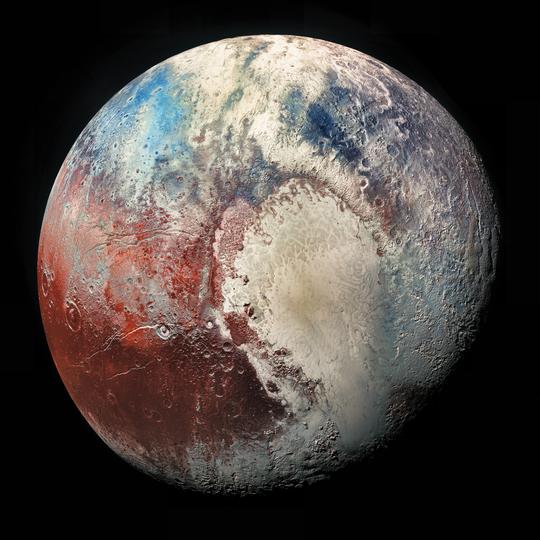 Sao Diêm Vương hình thành từ 1 tỉ sao chổi - Ảnh 1.
