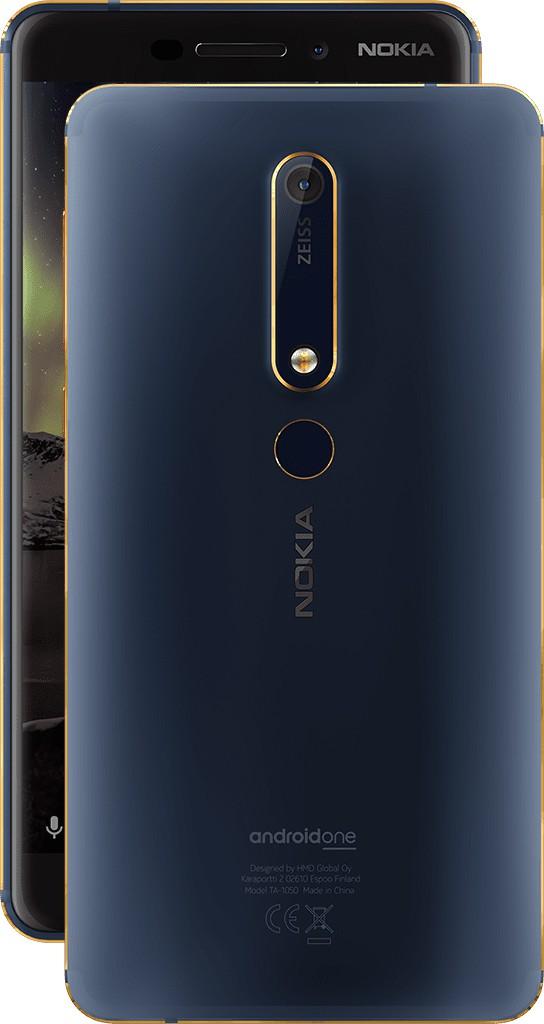 Nokia 6 mới ra mắt phiên bản Blue Gold đẹp khó cưỡng - Ảnh 1.