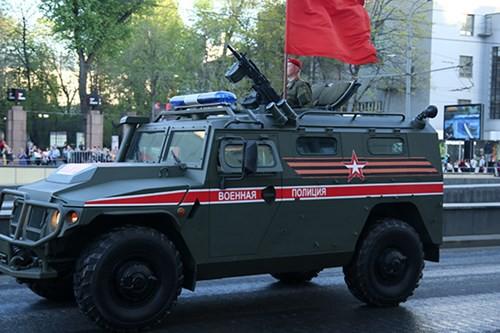 Lực lượng vũ trang Nga diễn tập chuẩn bị cho duyệt binh Ngày Chiến thắng 2018 - Ảnh 9.
