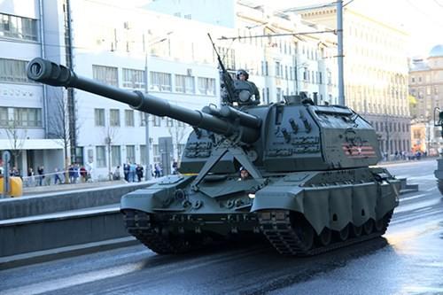 Lực lượng vũ trang Nga diễn tập chuẩn bị cho duyệt binh Ngày Chiến thắng 2018 - Ảnh 4.