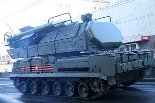 Lực lượng vũ trang Nga diễn tập chuẩn bị cho duyệt binh Ngày Chiến thắng 2018 - Ảnh 13.