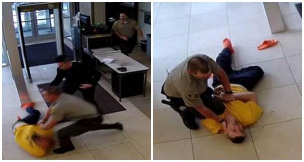 Clip: Tội phạm nguy hiểm tháo chạy ngay giữa phòng xét xử - Ảnh 3.
