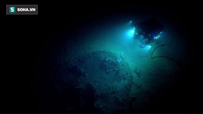 """Phát hiện """"nghĩa địa của những con tàu chìm ở vùng biển sâu nhất vịnh Mexico - Ảnh 1."""