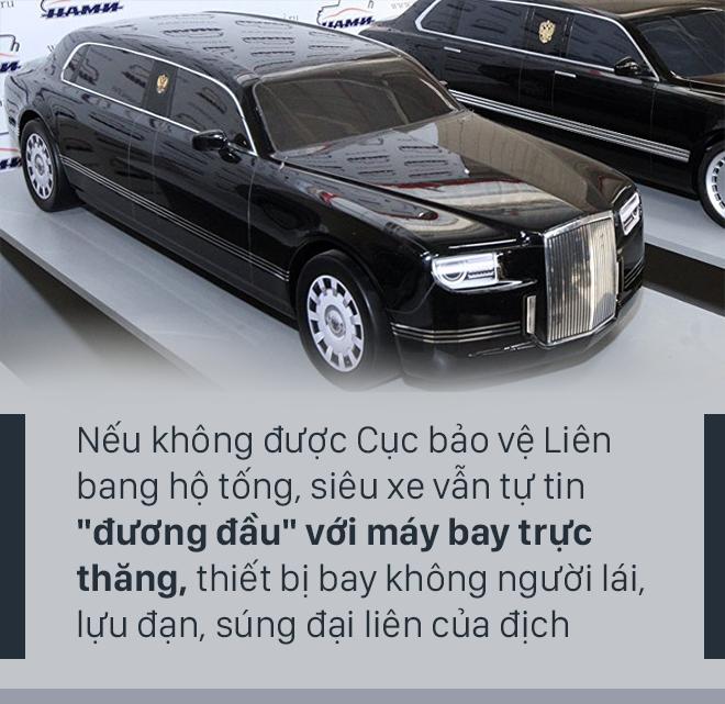 [PHOTO STORY] Siêu xe mới của Tổng thống Putin - chiếc xe sẵn sàng cho một cuộc chiến - Ảnh 7.
