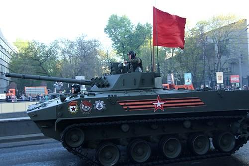Lực lượng vũ trang Nga diễn tập chuẩn bị cho duyệt binh Ngày Chiến thắng 2018 - Ảnh 16.