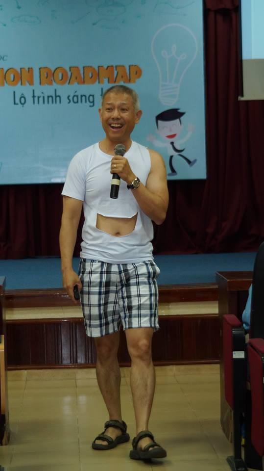 Dấu ấn của giáo sư quần đùi Trương Nguyện Thành tại Việt Nam - Ảnh 1.
