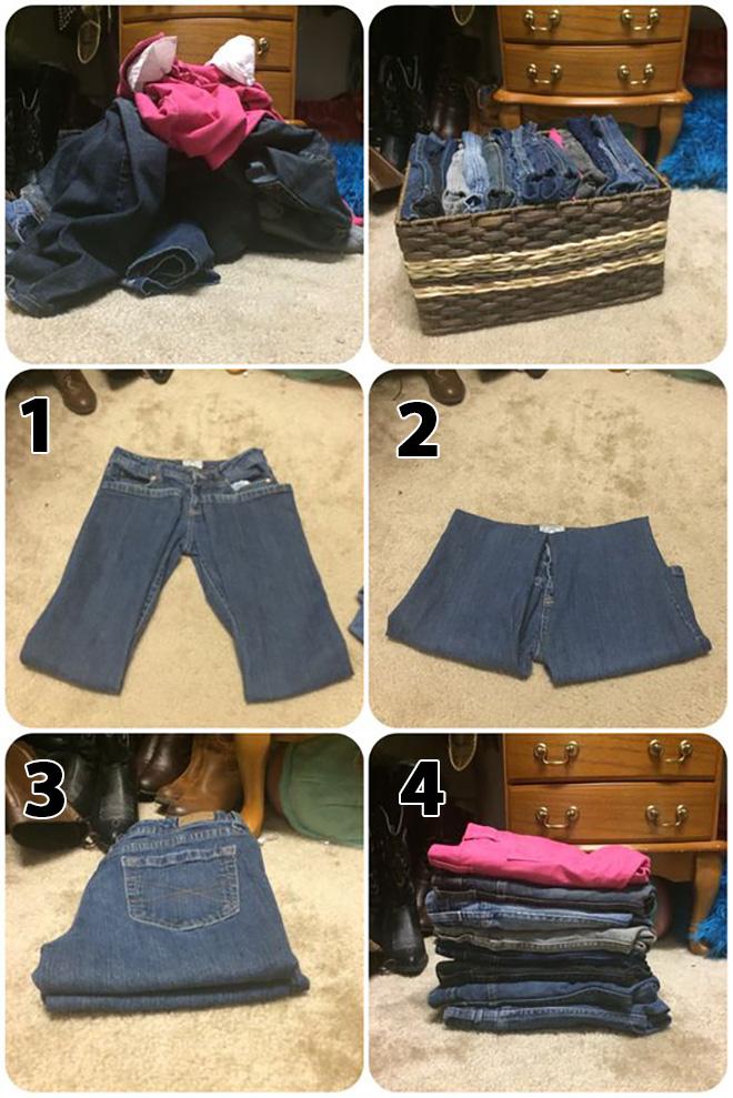 7 mẹo gấp quần áo vừa nhanh vừa gọn giúp chị em không còn đau đầu vì tủ đồ lúc nào cũng chật ních - Ảnh 1.