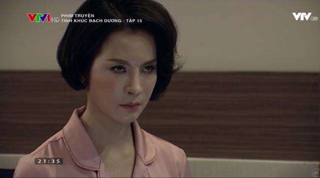 Biểu cảm lố, diễn xuất đơ của MC Thanh Mai trong Tình khúc Bạch dương khiến khán giả bực bội - Ảnh 5.