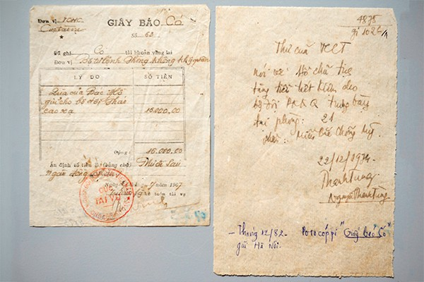 Chuyện về lá thư chuyển tiền của Bác Hồ  - Ảnh 2.